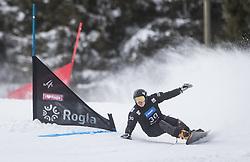 Kolegov Valery during the FIS snowboarding world cup race in Rogla (SI / SLO) | GS on January 20, 2018, in Jasna Ski slope, Rogla, Slovenia. Photo by Urban Meglic / Sportida