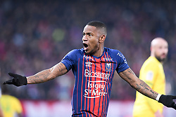 February 13, 2019 - Caen, France - 12 CLAUDIO BEAUVUE (CAEN) - COLERE (Credit Image: © Panoramic via ZUMA Press)