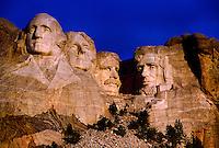 Mount Rushmore, Mount Rushmore National Memorial, near Rapid City, South Dakota USA