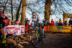 FAHRINGER Rebecca (USA) during Women Elite race, UCI Cyclo-cross World Cup #8 at Hoogerheide, Noord-Brabant, The Netherlands, 22 January 2017. Photo by Pim Nijland / PelotonPhotos.com | All photos usage must carry mandatory copyright credit (Peloton Photos | Pim Nijland)