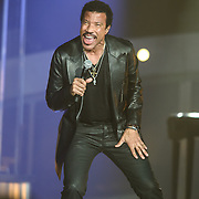FAIRFAX, VA - September 25th, 2013 - Lionel Richie performs at the Patriot Center in Fairfax, VA. Richie's 2012 album, Tuskegee, reached #1 on the US Billboard album chart, marking his first #1 album since 1986's Dancing on the Ceiling. (Photo by Kyle Gustafson / For The Washington Post)