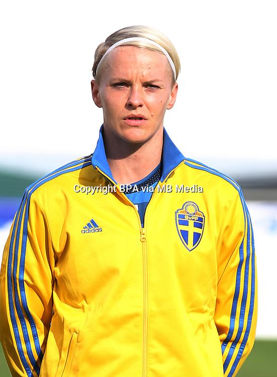 Fifa Womans World Cup Canada 2015 - Preview //<br /> Algarve Cup 2015 Tournament ( Vila Real San Antonio Sport Complex - Portugal ) - <br /> Germany vs Sweden 2-4   -  Nilla Fischer of Sweden