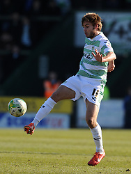Yeovil Town's Sam Foley- Photo mandatory by-line: Harry Trump/JMP - Mobile: 07966 386802 - 07/03/15 - SPORT - Football - Sky Bet League One - Yeovil Town v Oldham Athletic - Huish Park, Yeovil, England.