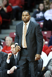 19 November 2011:  Paris Parham during an NCAA mens basketball game between the Lipscomb Bison and the Illinois State Redbirds in Redbird Arena, Normal IL