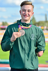 Paralympics Ireland Medalist Lee Jordan, T47, IRE at the Berlin 2018 World Para Athletics European Championships