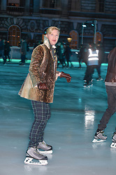 HENRY CONWAY at Skate at Somerset House in association with Fortnum & Mason held on 10th November 2014.