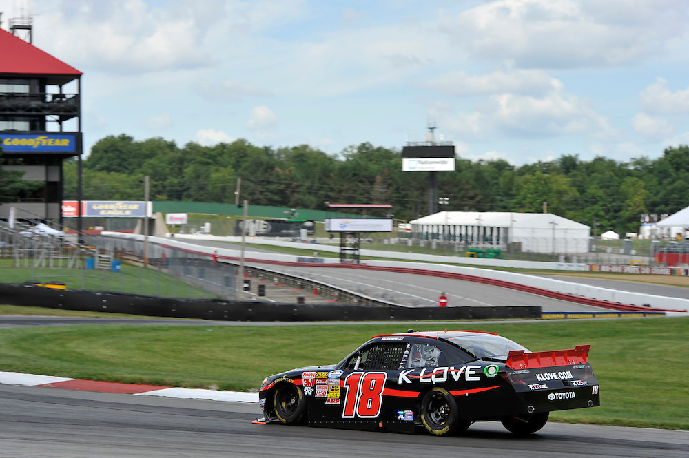 15-17 August, 2013, Lexington, Ohio USA<br /> Michael McDowell, K-Love Toyota Camry<br /> &copy;2013, Scott R LePage
