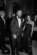 DAVID BECKHAM; VICTORIA BECKHAM, Alexander McQueen: Savage Beauty Gala, Victoria and Albert Museum, and A. 12th March 2015