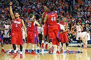 22 MAR 2014: University of Dayton takes on the Syracuse University at the First Niagara Center in Buffalo, NY. ©Brett Wilhelm