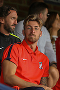 Jake Hyde during the Friendly match between York City and Leeds United at Bootham Crescent, York, England on 15 July 2015. Photo by Simon Davies.