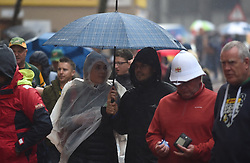 Cape Town-180623- Rugby lovers and fans dare the rain and came to witness the last game of the Castle Lager Test. between Springboks and England at Newlands Stadium photographer:Phando Jikelo/African News Agency/ANA