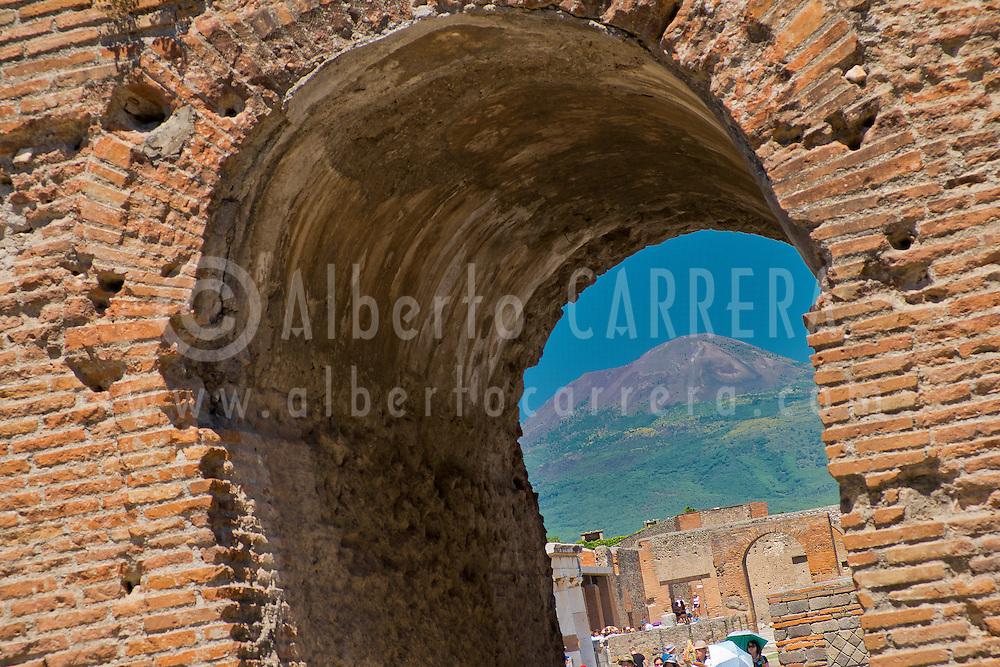 Alberto Carrera, Ruins of Pompei, Ancient Roman Ruins, UNESCO Worl Heritage Site, Pompei, Naples, Campania, Italy, Europe