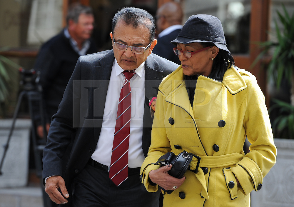 © Licensed to London News Pictures. 08/10/14. CAPE TOWN, SOUTH AFRICA -   Vinod Hindocha, father of Anni Dewani, during Day 3 of the Shrien Dewani trial at the Cape High Court before Judge Jeanette Traverso. Dewani is caused of hiring hit men to murder his wife, Anni. Anni Ninna Dewani (née Hindocha; 12 March 1982 – 13 November 2010) was a Swedish woman who, while on her honeymoon in South Africa, was kidnapped and then murdered in Gugulethu township near Cape Town on 13 November 2010 . Photo credit : Roger Sedres/LNP