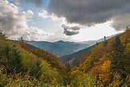 Slovakian countryside. Carpathian mountains