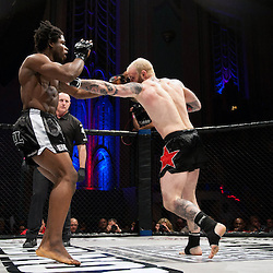 PETER IRVING LANDS A PUNCH - UCMMA 34 2 JUNE 2013