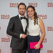 NLD/Rotterdam/20200308 - Premiere Hello Dolly, Jonathan Demoor en partner  Linda Verstraten