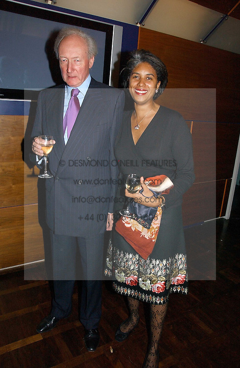 ALGY &amp; BLONDEL CLUFF at a party to celebrate the publication of 'The year of Eating Dangerously' by Tom Parker Bowles held at Kensington Place, 201 Kensington Church Street, London on 12th october 2006.<br /><br />NON EXCLUSIVE - WORLD RIGHTS