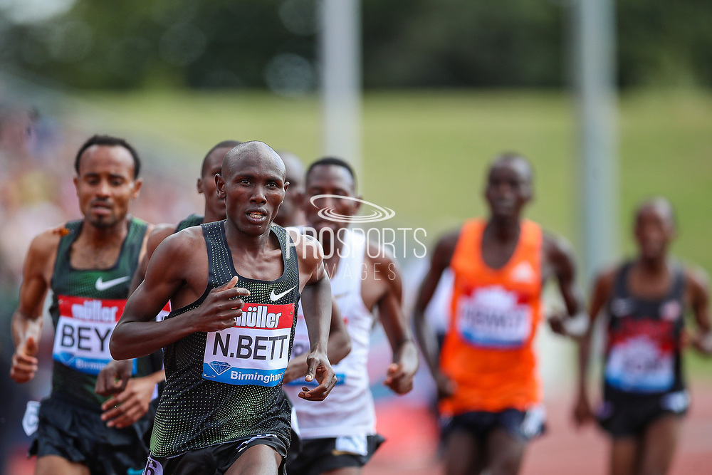 Nicholas Kiptanui BETT of Kenya in the Men's 3000m Steeplechase during the Muller Grand Prix 2018 at Alexander Stadium, Birmingham, United Kingdom on 18 August 2018. Picture by Toyin Oshodi.