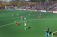 BLOEMENDAAL - overzicht met fotomast gemaakt  bij HC BLOEMENDAAL . Euro Hockey League 2015 . COPYRIGHT KOEN SUYK