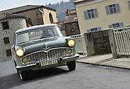 17/03/16 - LAVOUTE CHILHAC - HAUTE LOIRE - FRANCE - Essais SIMCA Chambord de 1958 - Photo Jerome CHABANNE