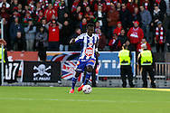23.4.2015, Sonera Stadion, Helsinki.<br /> Veikkausliiga 2015.<br /> Helsingfors IFK - Helsingin Jalkapalloklubi.<br /> Gideon Baah - HJK