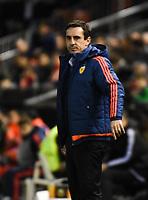 Valencia's    coach Gary Neville   during Uefa Europa League match. February 18, 2016. (ALTERPHOTOS/Javier Comos)