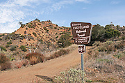 Cleveland National Forest Trail in Orange County California