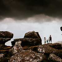 On the Rocks ~ Jem, Alex & Rufus' Brimham Rocks, Harrogate Family Portrait Shoot