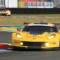 #63, Chevrolet Corvette C7.R, Corvette Racing-GM, driven by Jan Magnussen, Antonio Garcia, Ricky Taylor, 24 Heures Du Mans , 15/06/2016,