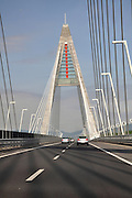 Eastern Europe, Hungary, Budapest, North motorway bridge