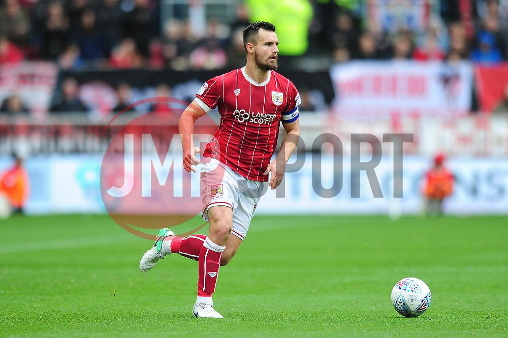 Bailey Wright of Bristol City - Mandatory by-line: Dougie Allward/JMP - 21/10/2017 - FOOTBALL - Ashton Gate Stadium - Bristol, England - Bristol City v Leeds United - Sky Bet Championship