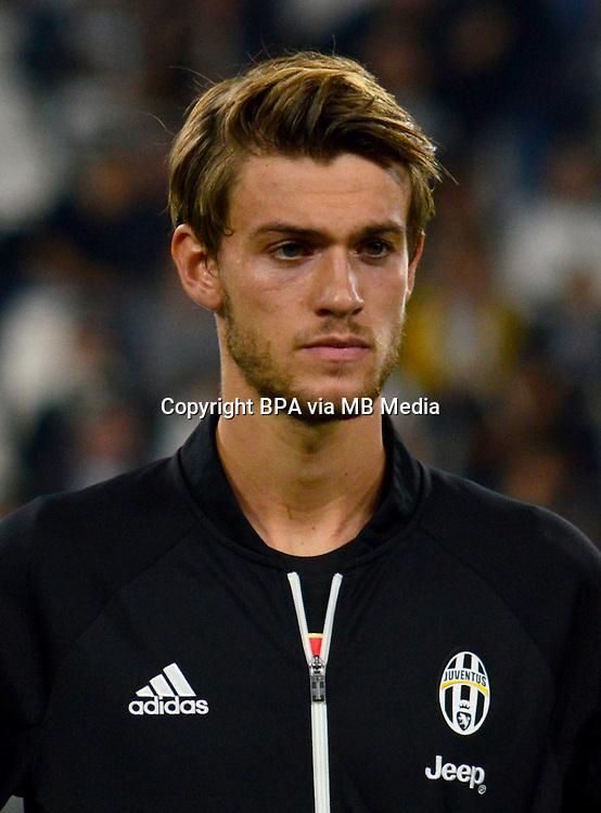 Italian League Serie A -2016-2017 / <br /> ( Juventus FC  ) - <br /> Daniele Rugani