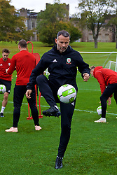 CARDIFF, WALES - Saturday, October 13, 2018: Wales' manager Ryan Giggs during a training session at the Vale Resort ahead of the UEFA Nations League Group Stage League B Group 4 match between Republic of Ireland and Wales. (Pic by David Rawcliffe/Propaganda)