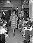 I06/07/1961<br /> 07/06/1961<br /> 06 July 1961<br /> Fashion Show: Irene Gilbert Autumn/Winter Collection.