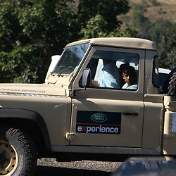THURSDAY 13TH MAY 2010 / DURBAN SOUTH AFRICA<br /> Team Land Rover<br /> during the Sharks  off road for the Land rover Experience