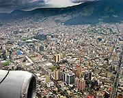 Jet window view over Quito. San Francisco de Quito, most often called Quito, is the capital city of Ecuador (and of Pichincha province) in northwestern South America.  UNESCO honored City of Quito as a World Heritage Site in 1978. Quito was founded in 1534 on the ruins of an Inca city. Despite the 1917 earthquake, the city has the best-preserved, least altered historic center in Latin America. This city of 1.4 million people (as of the 2001 census) is located in the Guayllabamba river basin, on the eastern slopes of Pichincha, an active stratovolcano in the Andes mountains. In 2008 Quito became headquarters of the Union of South American Nations. The elevation of the city's central square (Plaza de La Independencia or Plaza Grande) is 2850 meters (9350 feet), making Quito the second-highest administrative capital city in the world (after La Paz, Bolivia). The central square of Quito is located about 25 km (15 miles) south of the equator; the city itself extends to within about 1 km (0.6 miles) of zero latitude. A monument and museum marking the general location of the equator is known locally as la mitad del mundo (the middle of the world), to avoid confusion, as the word ecuador is Spanish for equator.