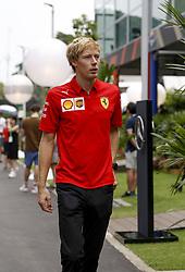 September 20, 2019, Singapore, Singapore: Motorsports: FIA Formula One World Championship 2019, Grand Prix of Singapore, ..Brendon Hartley (NZL) (Credit Image: © Hoch Zwei via ZUMA Wire)