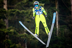 Katja Pozun (SLO) during 1st Round at Day 1 of FIS Ski Jumping World Cup Ladies Ljubno 2018, on January 27, 2018 in Ljubno ob Savinji, Ljubno ob Savinji, Slovenia. Photo by Ziga Zupan / Sportida