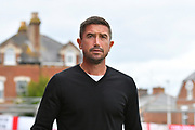 Notts County manager Harry Kewell before the EFL Sky Bet League 2 match between Exeter City and Notts County at St James' Park, Exeter, England on 8 September 2018.