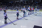 KELOWNA, CANADA - JANUARY 17:  Pepsi Player of the game in the lineup at the Kelowna Rockets game on January 17, 2018 at Prospera Place in Kelowna, British Columbia, Canada.  (Photo By Cindy Rogers/Nyasa Photography,  *** Local Caption ***