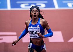 02-02-2018 GBR: World Indoor Championships Athletics day 2, Birmingham<br /> Erica Bougard USA