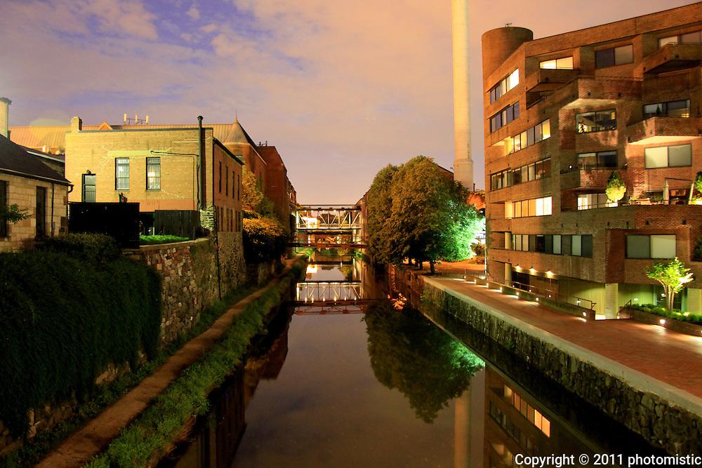 c&o canal. georgetown, washington, d.c.