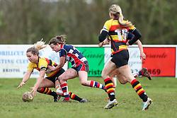 Bristol Ladies - Rogan Thomson/JMP - 15/01/2017 - RUGBY UNION - Cleve RFC - Bristol, England - Bristol Ladies Rugby v Richmond WRFC - RFU Women's Premiership.