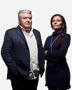 Giovanni e Marilena Cinquepalmi nella loro azienda Agi Plus srl.