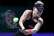 WTA Finals Singapore - Day 6 - 26 Oct 2018