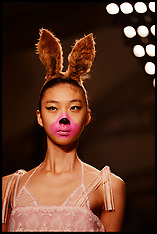 SEP 17 2013 Ryan Lo Show At London Fashion Week