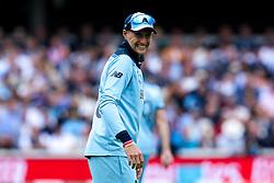 Joe Root of England smiles - Mandatory by-line: Robbie Stephenson/JMP - 14/07/2019 - CRICKET - Lords - London, England - England v New Zealand - ICC Cricket World Cup 2019 - Final