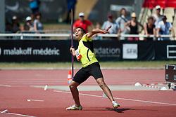 ISMAIL Mahmoud, EGY, Javelin, F46, 2013 IPC Athletics World Championships, Lyon, France
