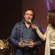 NLD/Amsterdam/20160202 - Uitreiking 100% NL Awards 2015, Kim-Lian van der Meij en Marco Borsato