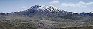 Mount St. Helens Panoramic from Johnston Ridge Observatory, Mount St. Helens National Volcanic Monument, Washington